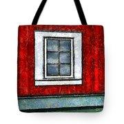 The Night Window Tote Bag