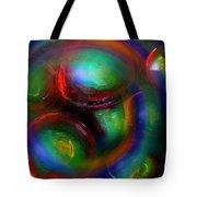 The No.7 Colored Hurricane Tote Bag