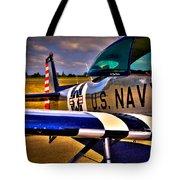The North American L-17 Navion Aircraft Tote Bag