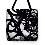 The Obscured Mosque Tote Bag