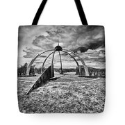 The Observatory Monochrome Tote Bag