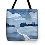 The Obvious Path Tote Bag