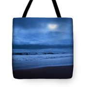 The Ocean Moon Square Tote Bag by Bill Wakeley