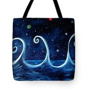 The Ocean, The Moon And The Stars Tote Bag