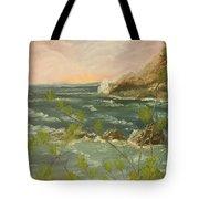 The Ocean View Tote Bag