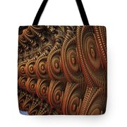 The Odd Beauty Of Fractals Tote Bag