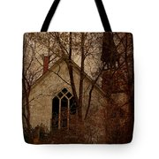 The Old Abandoned Church Tote Bag