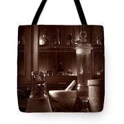 The Old Apothecary Shop Tote Bag