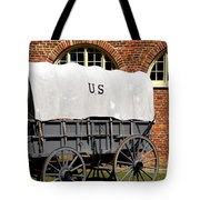The Old Army Wagon Tote Bag