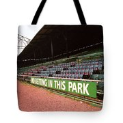 The Old Ballpark 3 Tote Bag