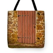 The Old Barn Door Tote Bag