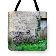 The Old Bike In The Irish Countryside Tote Bag