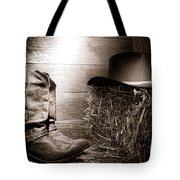 The Old Boots Tote Bag