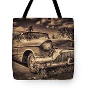 The Old Cadillac  Tote Bag