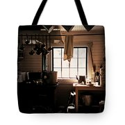The Old Camp Kitchen Tote Bag