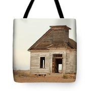 The Old Church In Town Tote Bag