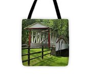 The Old Covered Bridge Tote Bag
