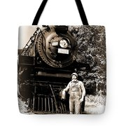The Old Engineer Tote Bag
