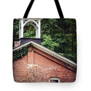 The Old Erie Schoolhouse Tote Bag