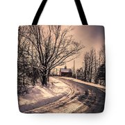 The Old Farm Down The Road Tote Bag
