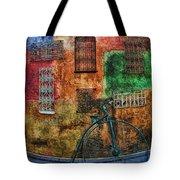 The Old Fashion Bike Tote Bag