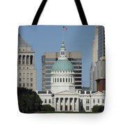 The Old Federal Courthouse St Louis Tote Bag