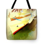 One Day The Old Ferry Is Going To Sink  Tote Bag