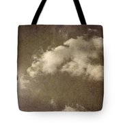 The Old Fireplace And Its Cloud Tote Bag