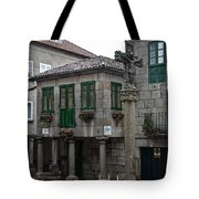 The Old Firewood Marketplace Tote Bag
