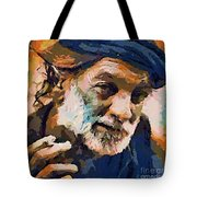 The Old Fisherman Tote Bag