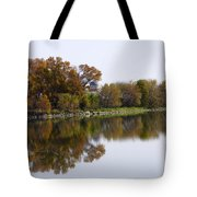 The Old Fishing Hole  Tote Bag