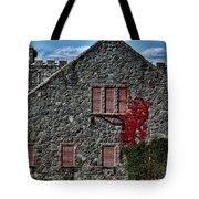 The Old Fort Bristol Rhode Island Tote Bag