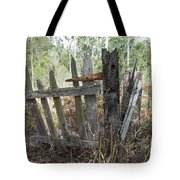 The Old Gate Could Use Some Oil. Tote Bag