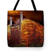 The Old Gates Of Galisteo Tote Bag
