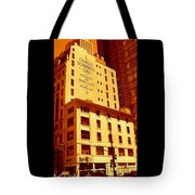 The Old Good Days In Manhattan Tote Bag