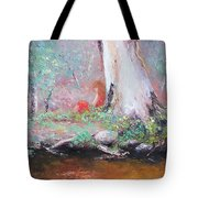 The Old Gum By The Creek Tote Bag