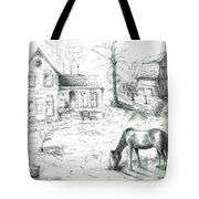 The Old Horse Farm Tote Bag