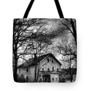 The Old House Down The Street Tote Bag