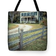 The Old House On The Hill  Tote Bag