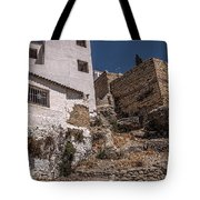 The Old Houses Of Ronda. Andalusia. Spain Tote Bag