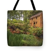 The Old Mill And Pond Tote Bag