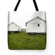 The Old Pierce Point Ranch At Foggy Point Reyes California 5d28140 Tote Bag