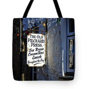 The Old Pilchard Press Tote Bag