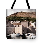 The Old Port Under The Ramparts Tote Bag
