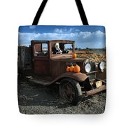 The Old Pumpkin Patch Tote Bag