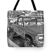 The Old Retro Truck Tote Bag