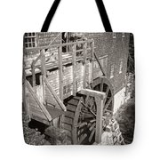 The Old Saw Mill Tote Bag by Edward Fielding