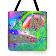The Old Schoolhouse Library Again Tote Bag