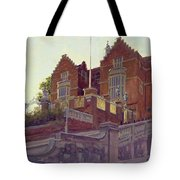 The Old Schools, Harrow Oil On Canvas Tote Bag