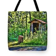 The Old Shed Tote Bag by Cathy  Beharriell